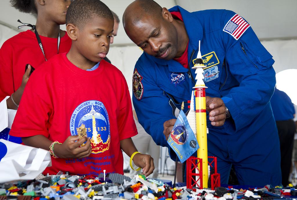 "LEGO ""Build The Future"" Activity"