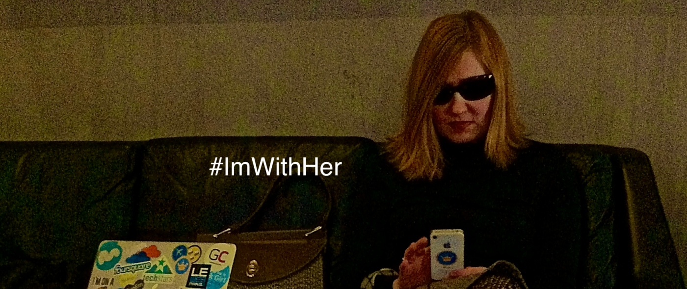 Background cover photo #ImWithHer