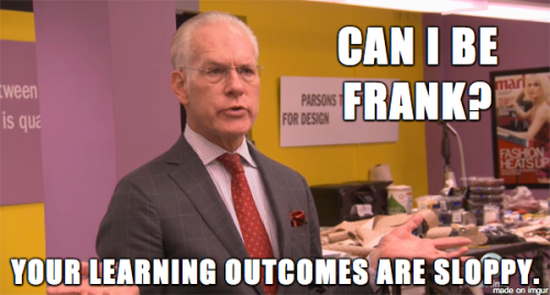timm gunn learning outcomes