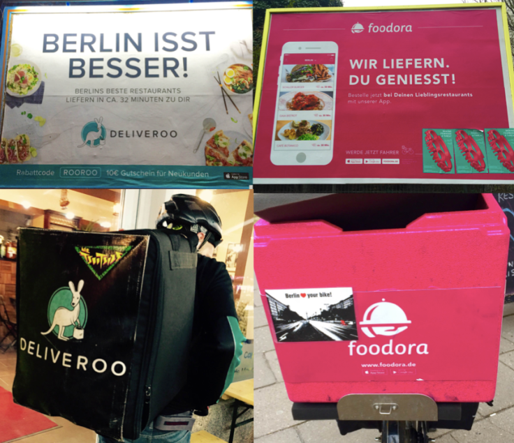 Deliveroo vs Foodora Berlin